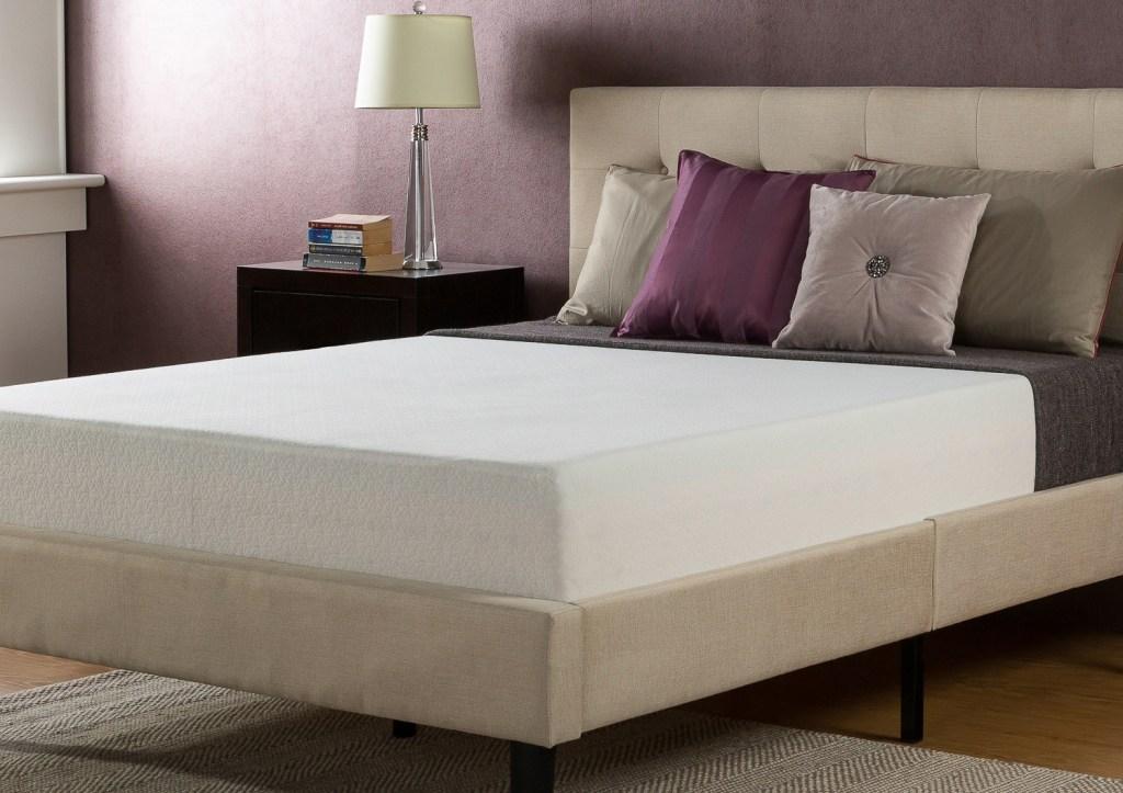 walmart spa sensations memory foam mattress as low as 59 shipped great reviews hip2save. Black Bedroom Furniture Sets. Home Design Ideas
