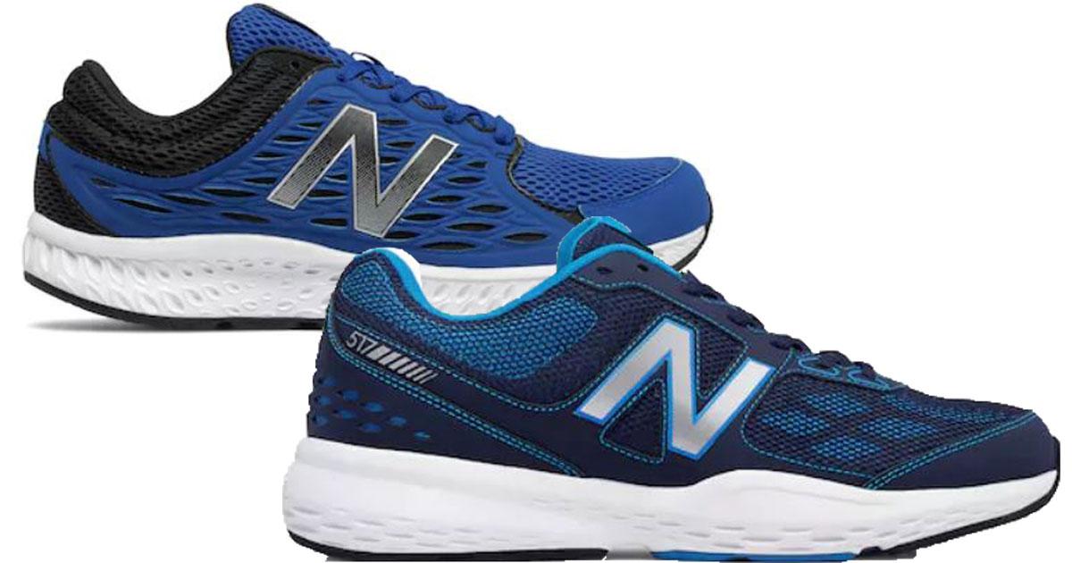 kohl's new balance mens running shoes