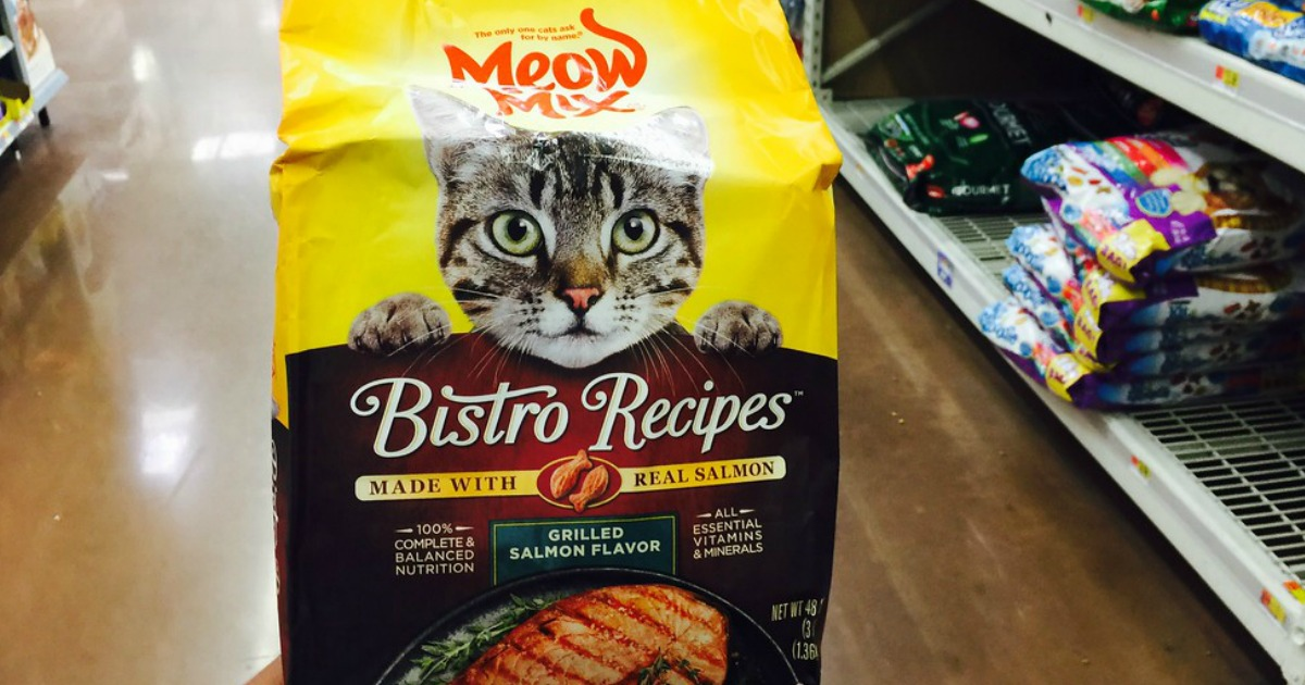 graphic relating to Meow Mix Coupon Printable identify Uncommon Meow Merge Cat Foodstuff Snacks Discount coupons \u003d 50%-75% Off at