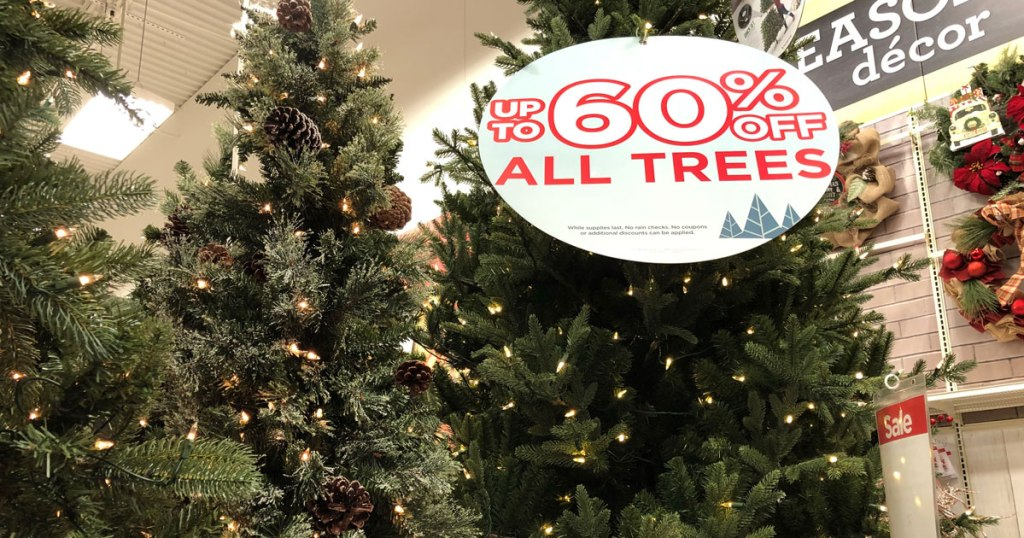 Michaels Christmas Trees.Michaels 60 Off Artificial Christmas Trees Free Storage