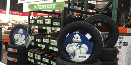 $150 Off 4 Michelin Tires & Installation at Costco