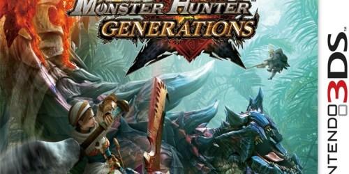 Monster Hunter Generations for Nintendo 3DS Only $14 (Regularly $30)