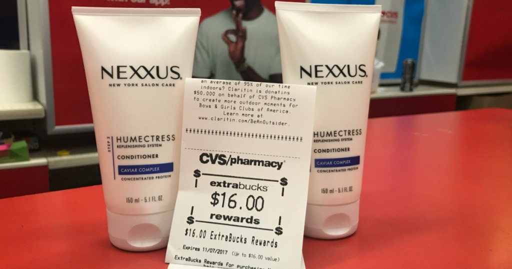 Nexxus deal at cvs