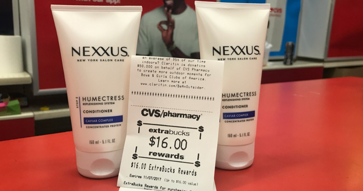 cvs store guide – Nexxus deal at cvs