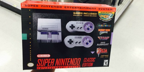 Super NES Classic AND Wireless Controller Bundle In Stock at GameStop