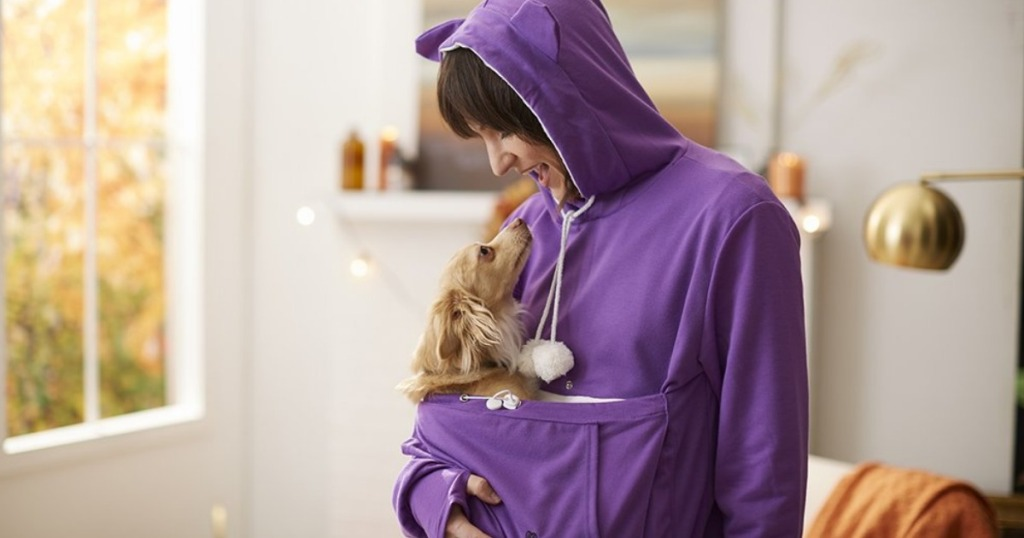 ffa693ad351 Royal Wise Pet Pouch Sweatshirts Only  19.99 (Take Your Pet w  You on The  Go!)