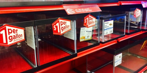 $1 Per Gallon Fish Tank Sale at Petco (In-Store Only)