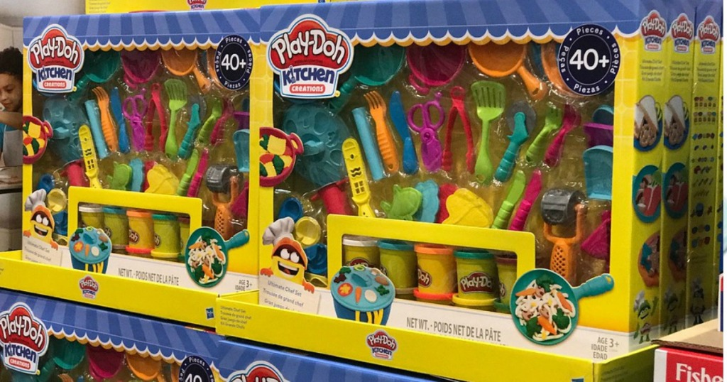 Costco Warehouse Play Doh Kitchen Creations 40 Piece
