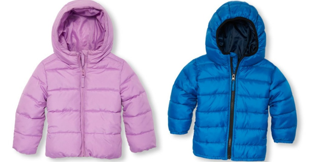 9e9aa0c3c The Children s Place Kids  Puffer Jackets as Low as  19.98 Shipped ...