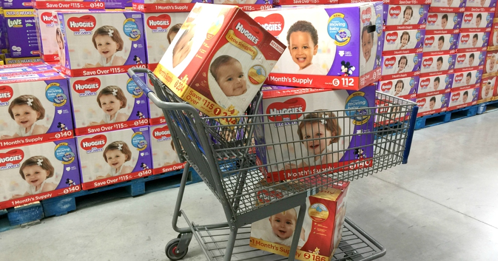Sam's Club Huggies