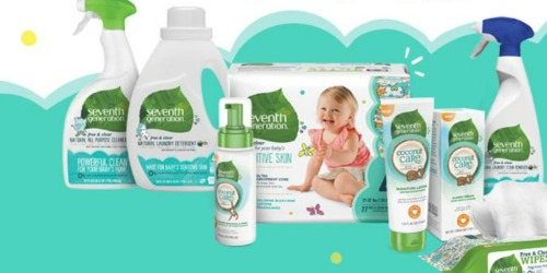 Possible FREE Seventh Generation Baby Sample Kit w/ Diapers, Wipes & More (Check Account)