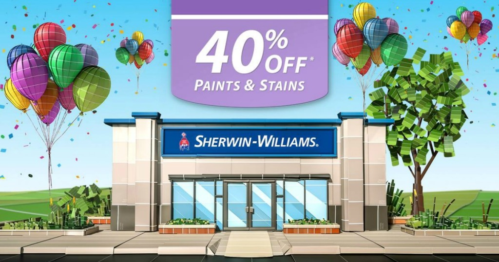 Sherwin Williams 40 Off Paints Stains 10 Off 50