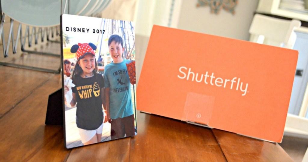 Shutterfly desktop plaque