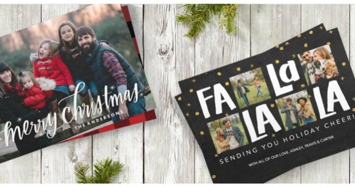 Snapfish Christmas Cards.Snapfish 75 Off Custom Cards Free Shipping Hip2save