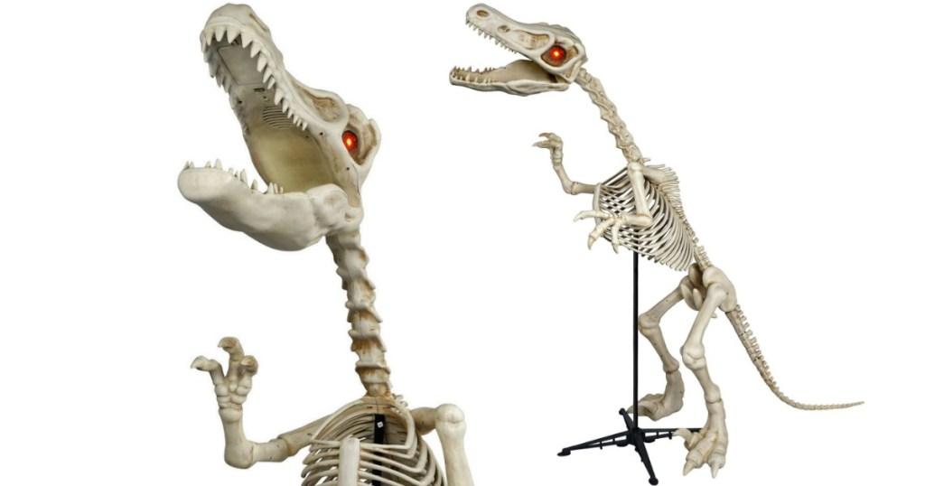 Walmart.com: 6 Ft. Skeleton Raptor Halloween Decoration ...