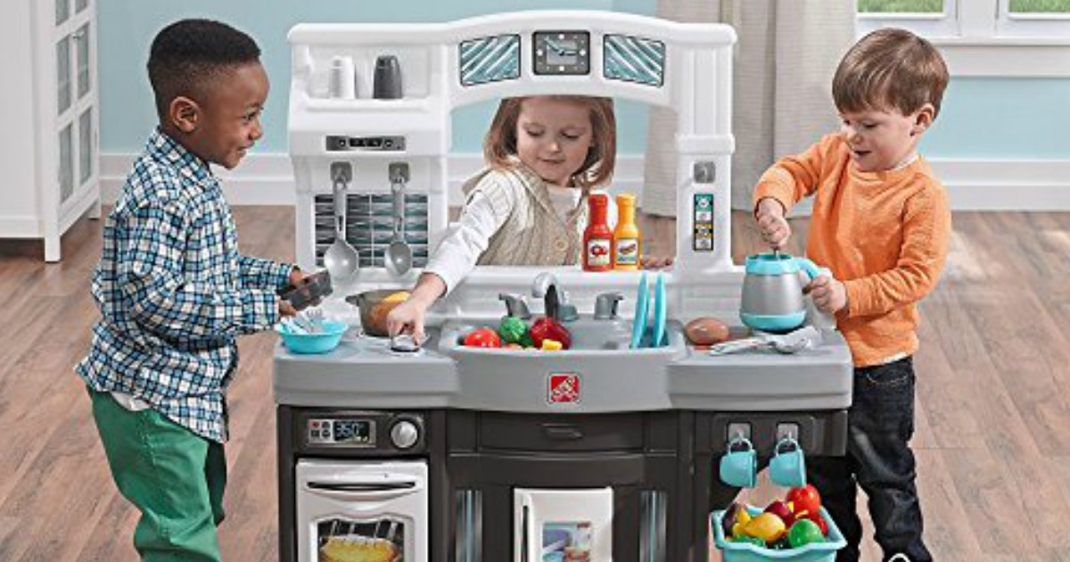 Kohl S Cardholders Step2 Modern Play Kitchen Set Only 62 99 Shipped Regularly 110