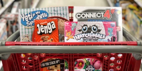 Buy One Board Game, Puzzle or Video Game, Get One 50% Off at Target (In-Store & Online)