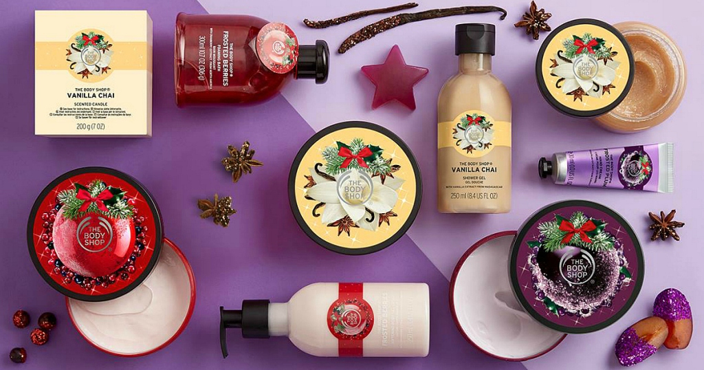 The Body Shop: 40% Off Sale + Free Shipping on ANY Order