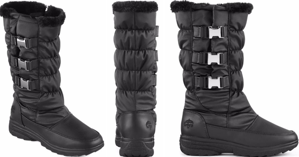 Totes Women's Waterproof Winter Boots