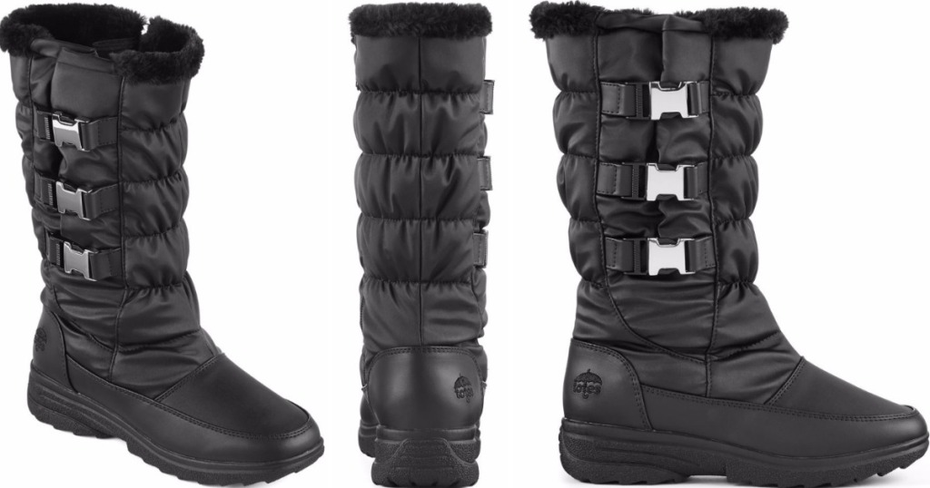 8e84ef55dc0f JCPenney  Totes Women s Waterproof Winter Boots Only  10.80 (Regularly  70)