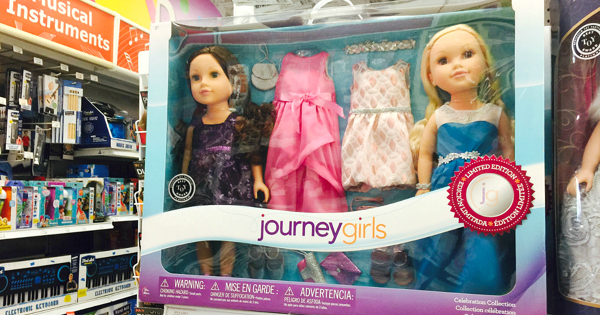 Journey Girls at ToysRUs is an example of toy the comeback brand might focus on