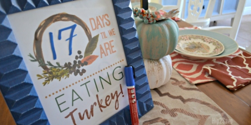 FREE Printable Thanksgiving Countdown & Art Prints