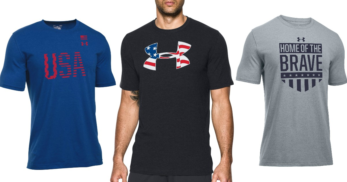 f7180e3876 Under Armour Men's Americana Shirts Only $9.73 Shipped (Regularly $25) -  Hip2Save