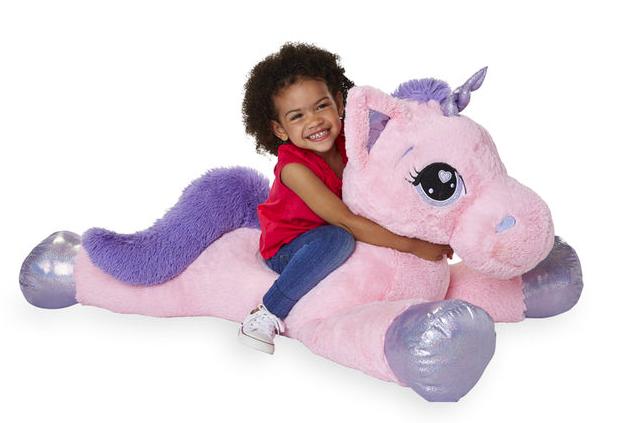 Jumbo Plush Unicorn Or Pegasus Only 29 99 At Toysrus Online In