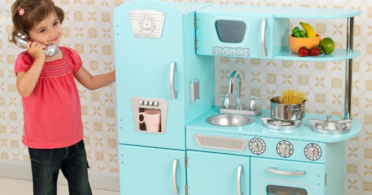 amazon: kidkraft vintage kitchens starting at only $87.99