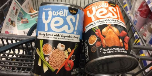 CVS: 25¢ Campbell's Well Yes! Soup After Ibotta
