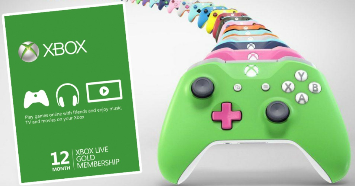 Xbox Live Gold 12 Month Membership Only 39 99 Shipped Regularly 60 Hip2save
