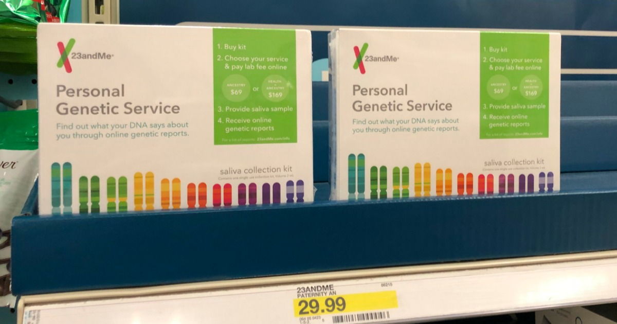 CVS: 23andMe Genetic Testing Collection Kit Only $9 99 After