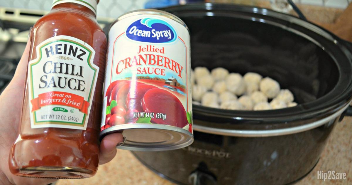 meatball recipe cranberry