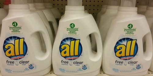 All Liquid Laundry Detergent 88oz Bottle Only $5.27 Shipped on Amazon (Regularly $12)