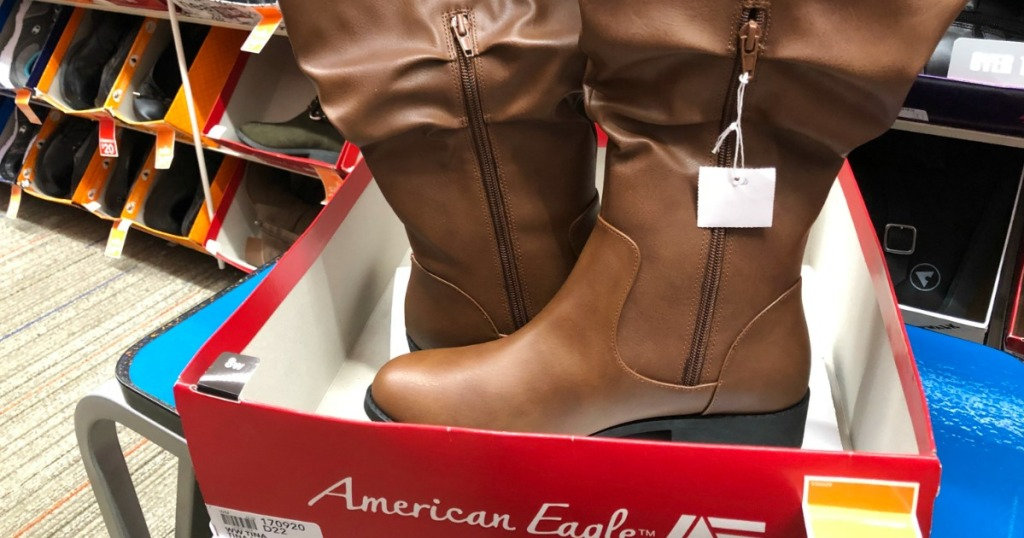 ba31c2dae1a American Eagle Women s Tina Tall Slouch Boot  29.99 (regularly  49.99) Use  promo code ZZEXTRA25 at checkout. Final Cost  22.49!