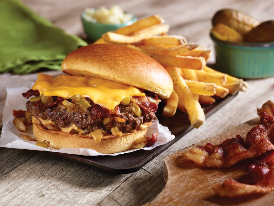fathers day freebies meals and deals – applebee's plated burger and fries