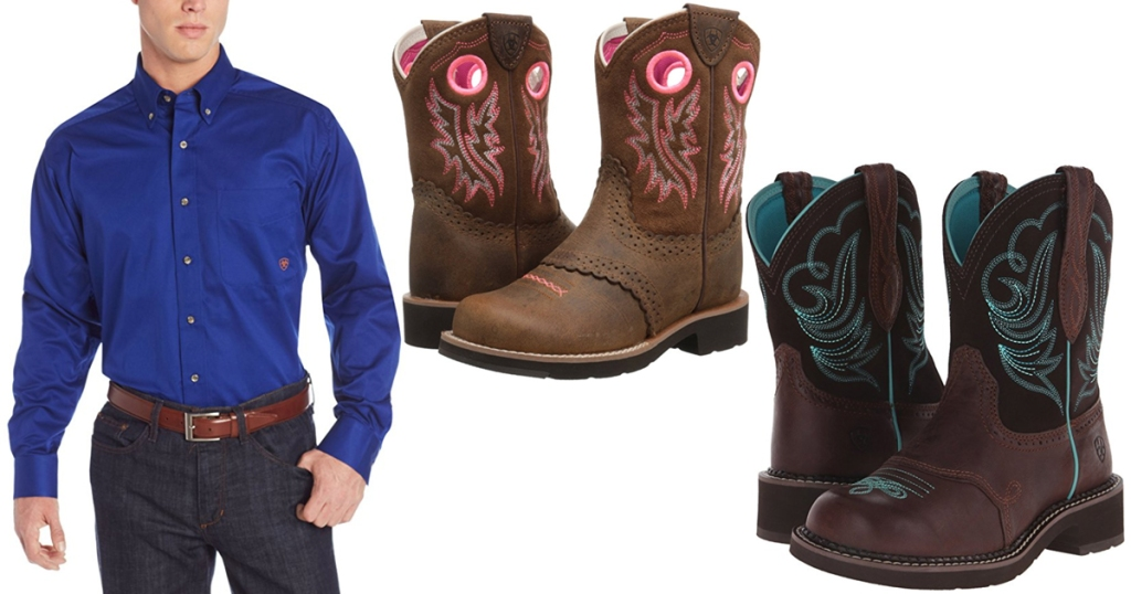 98639d0c67c36 Amazon: Up to 55% Off Ariat Boots & Apparel - Hip2Save