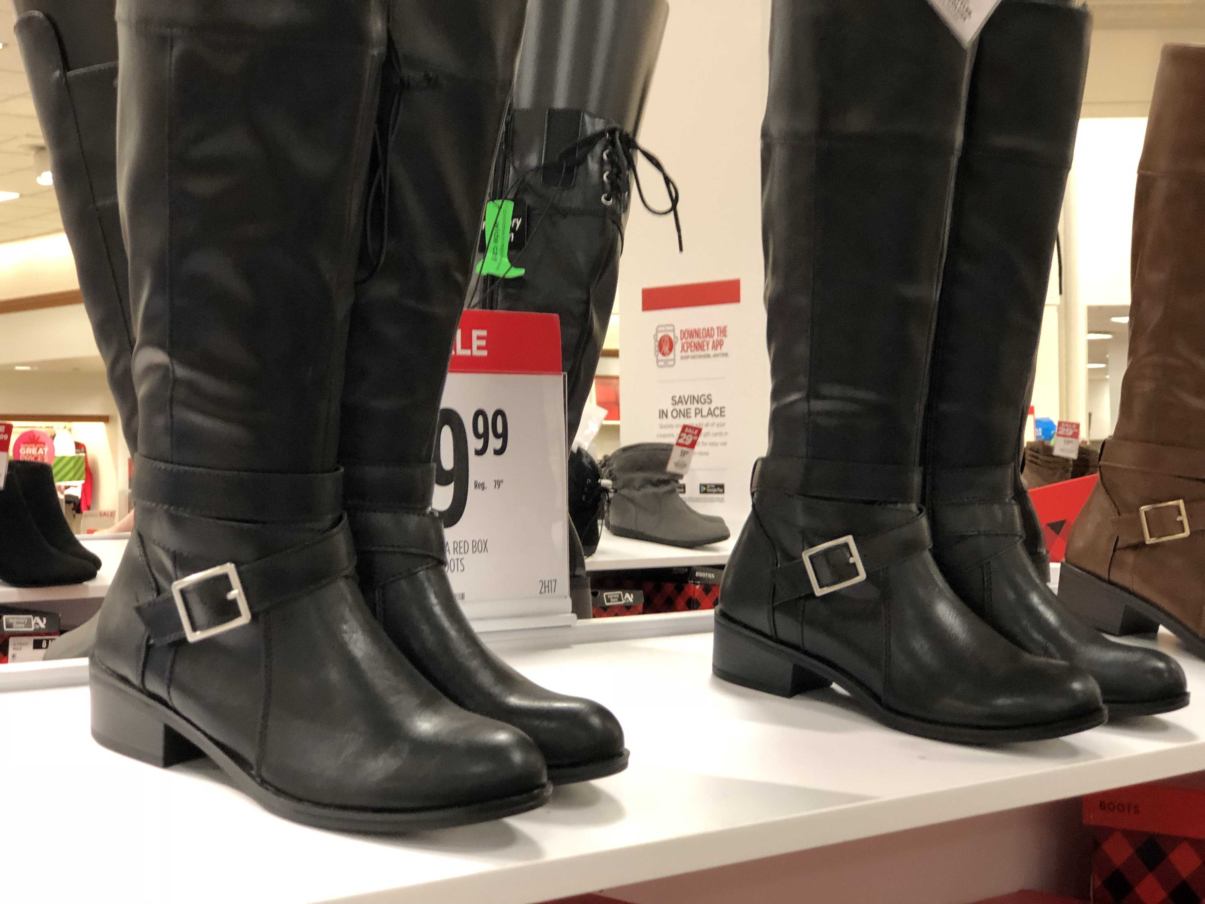 JCPenney: Buy 1 Pair Boots \u0026 Get 2 FREE