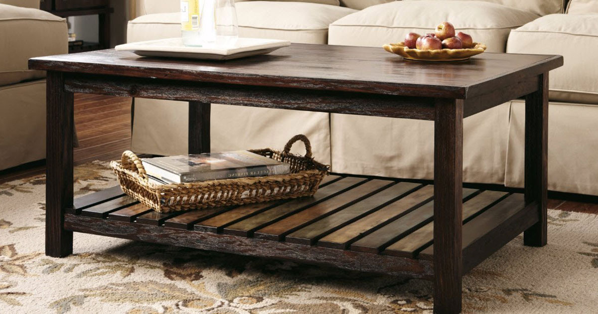Amazon Ashley Furniture Rustic Coffee Table And Two End