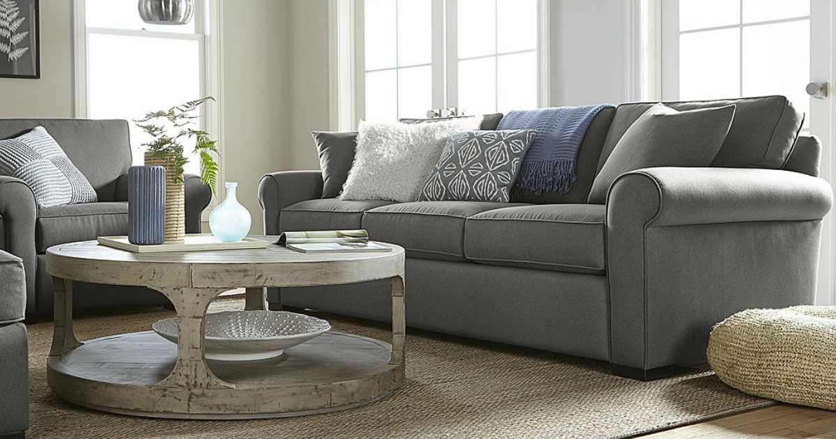 Macyu0027s Black Friday Preview Sale: Astra Fabric Sofa Just $499 (Regularly  $1000) + More