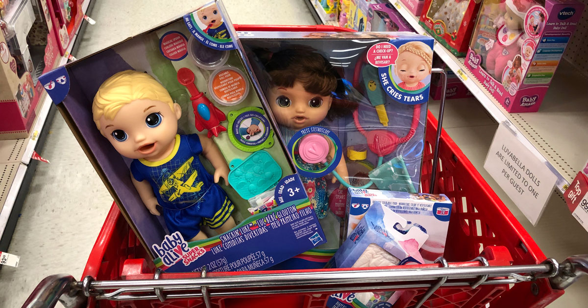 25 Off Baby Alive Dolls Amp Accessories At Target Today