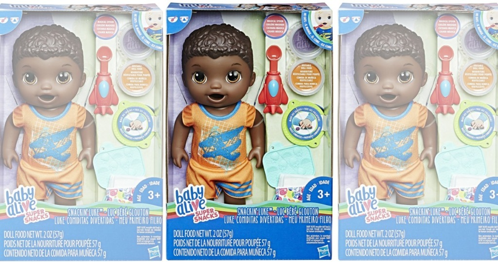 Baby Alive Super Snacks Snackin Luke Only 9 79 Regularly 22