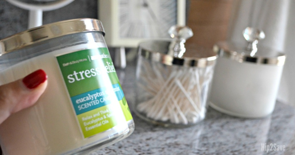 Bath & Body Works Candles Re-Purposed