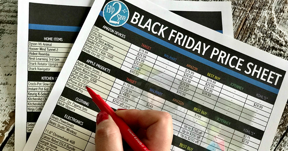 Same money with our best Black Friday Shopping Tips for 2018 – Black Friday planning sheets