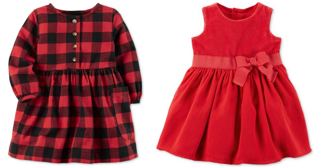 a32b8040e3 Macy s.com  Carter s Baby   Toddler Holiday Dresses as Low as  13.59  (Regularly  34+)