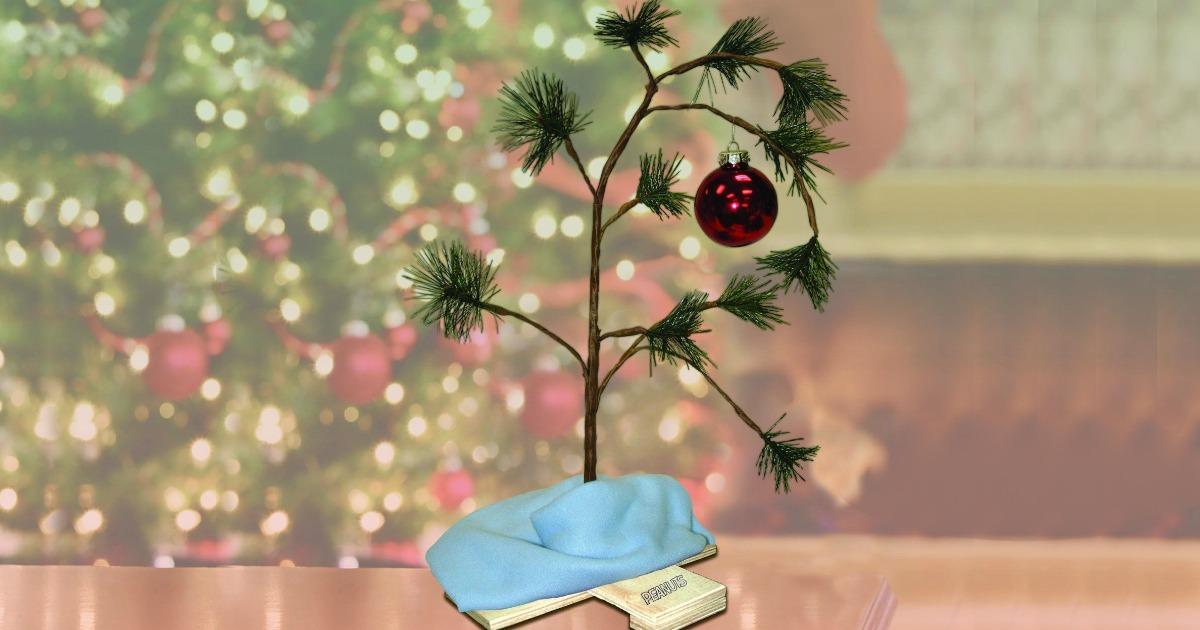 Kohl's: Charlie Brown Christmas Tree With Blanket