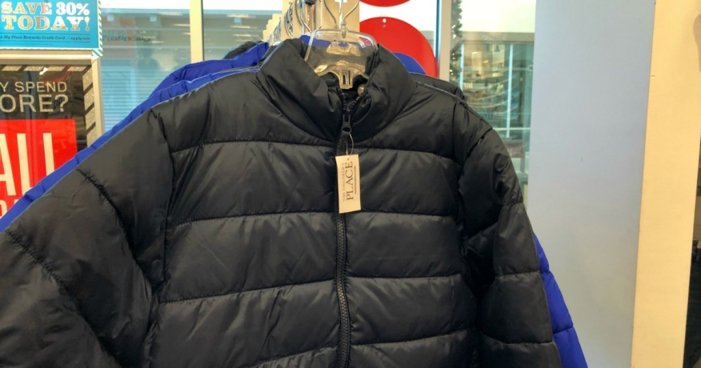 the childrens place puffer jackets