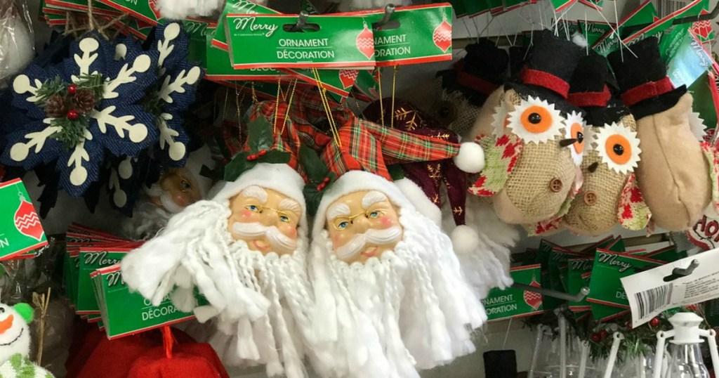 Dollar Tree Christmas ornaments