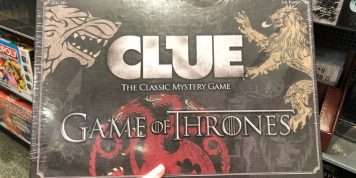 Clue Game Of Thrones Edition Board Game Only $19.98 Shipped (Regularly $50)