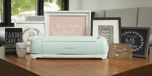 Cricut Explore Air 2 Bundle from $191.57 Shipped + Bulk Vinyl Only $8 (Regularly $30)